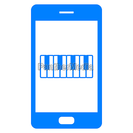 keyboard and smartphone