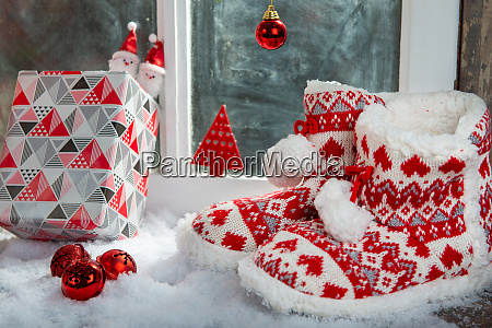 merry christmas concept greeting postcard with