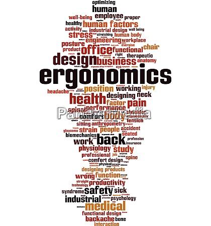 ergonomics word cloud