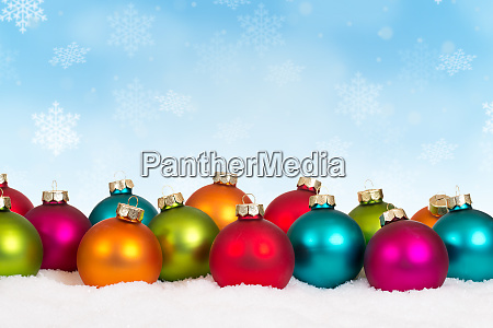 christmas balls baubles background decoration card