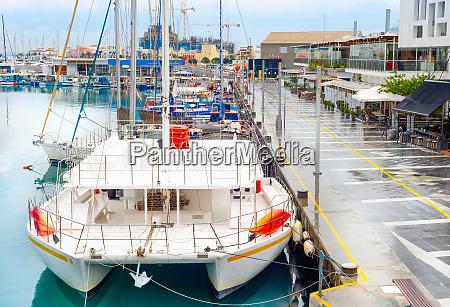 catamaran yachts marina limassol cyprus