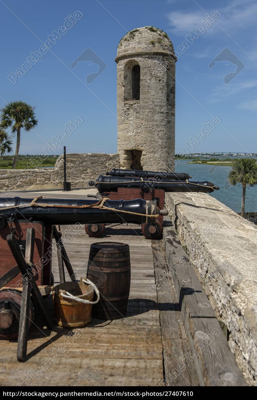 cannons, on, castillo, de, san, marcos - 27407610