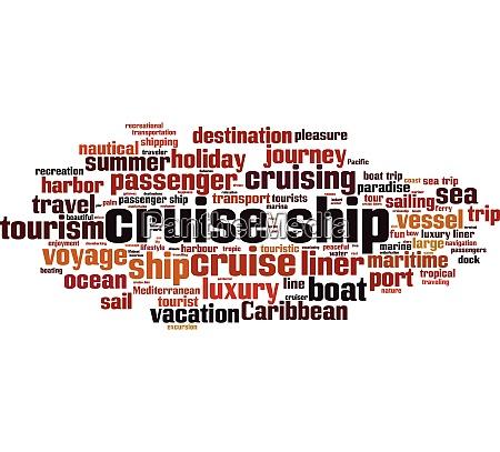 cruise ship word cloud