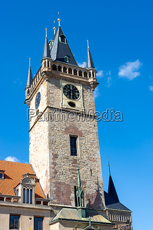 historic town hall of prague
