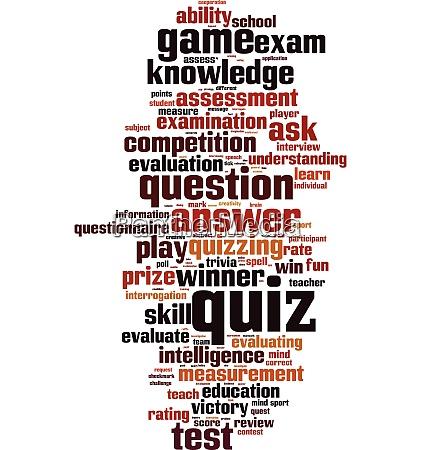quiz word cloud