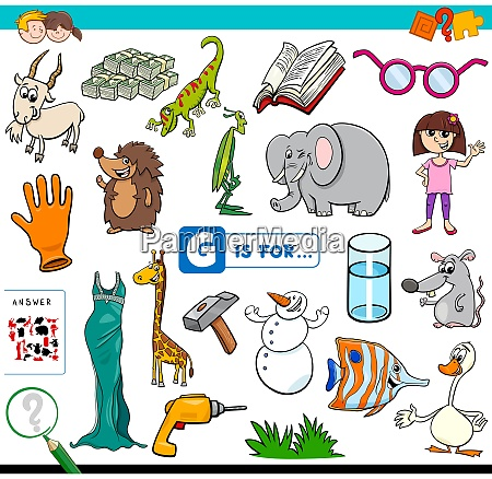 g is for words educational task