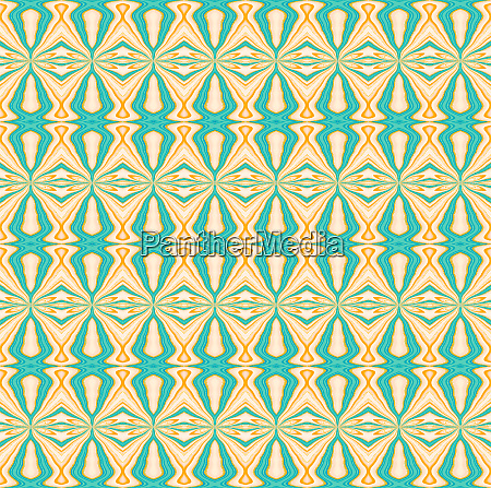 regular seamless diamond pattern turquoise yellow