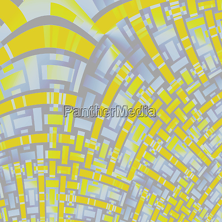 curved stripes pattern yellow purple gray