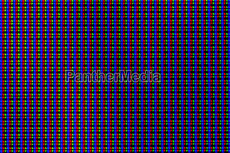 lcd screen pixels