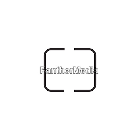digital photography camera metering mode icon
