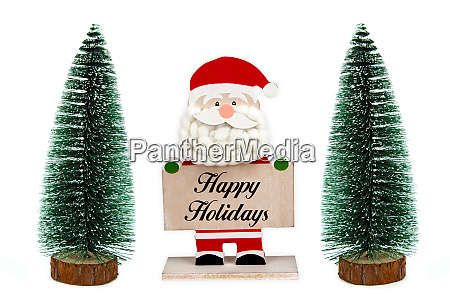 santa clause happy holidays