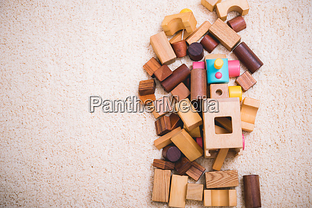 building playing toy blocks wood for