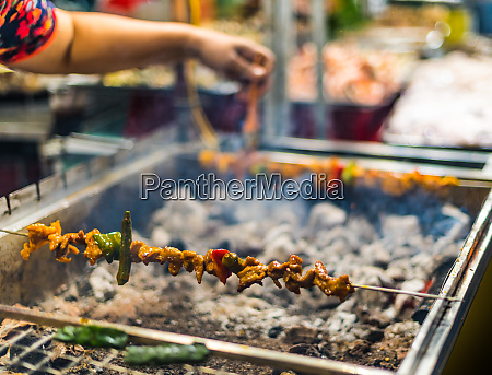 traditional vietnamese street food sold in