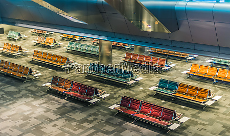 interior of hamad international airport in