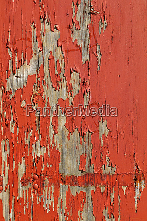 red vintage painted wooden wall background
