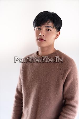 young adult boy portrait