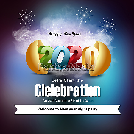 starting new year celebration in