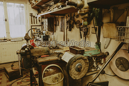 domestic home workshop room