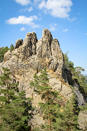 resin mountains rocks of sandstone form