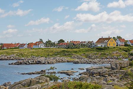 small village of svaneke on bornholm