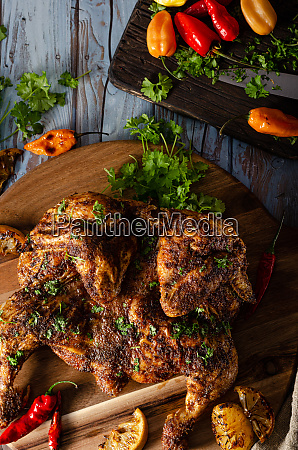 grilled spicy chicken