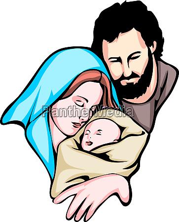 christmas holy family baby jesus nazareth