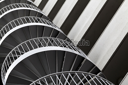 modern architecture graphical geometric pattern on