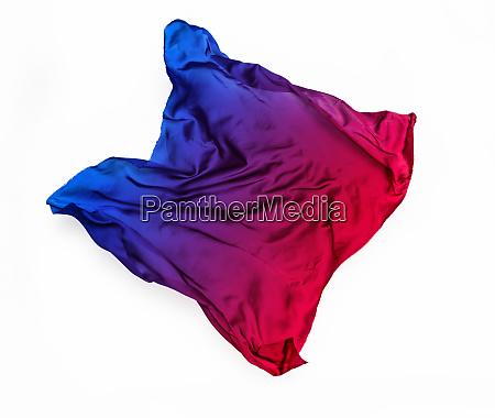 multicolored fabric in motion