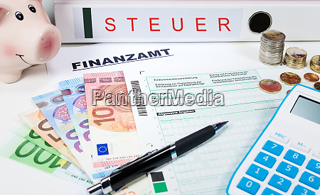 income tax with money