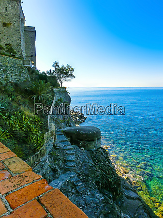 stone fortifications of monterosso al mare