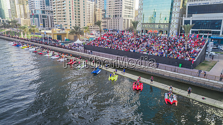 aerial view of f1 h20 competition