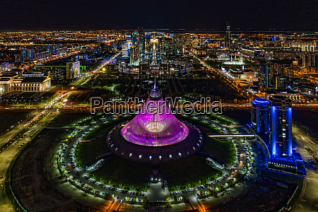 aerial view of entertainment centre at