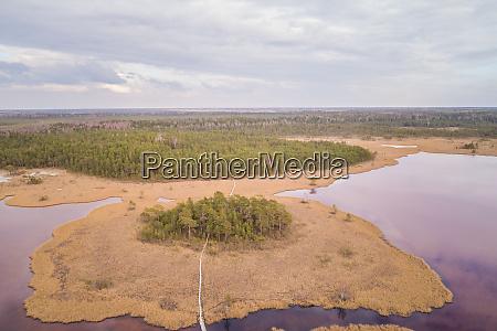 aerial view of landscape around valgjarv