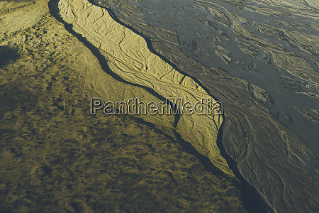aerial view of Takgil dry rivers