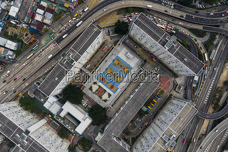 aerial view of the choi hung