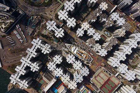 aerial view of the whampoa district