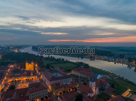 aerial view of tvra and drava