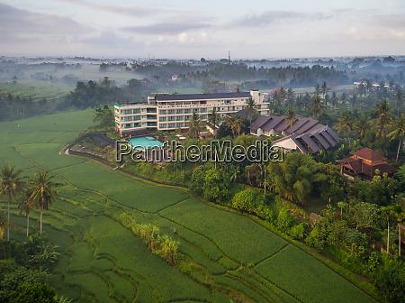 aerial view of royal casa ganesha