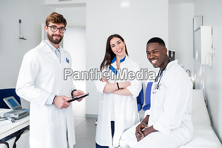 doctors in consultation room
