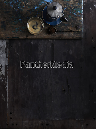 rustic low key still life with