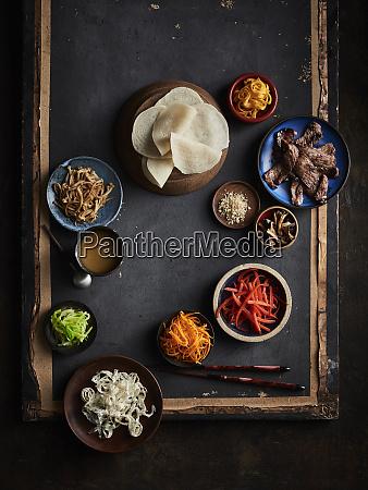 gujeoulpan korean tiny crepe 8 fillings