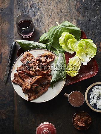 daeji bulgogi korean spicy pork