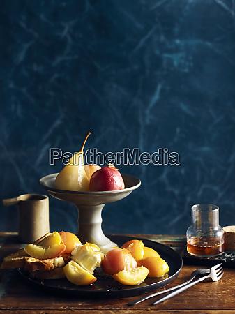 autumn fruit confit