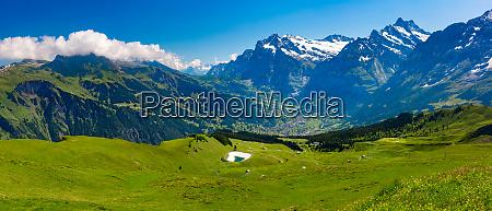 grindelwald valley switzerland