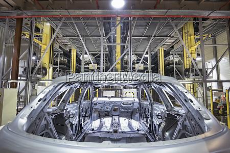 robotic car body storage in car