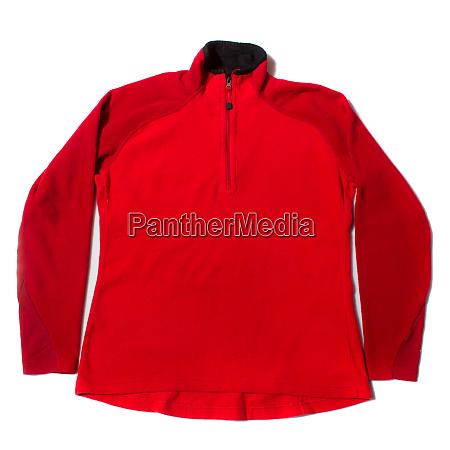 red womens fleece base layer