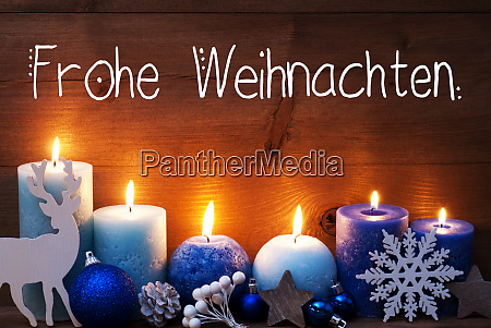 turquoise candle christmas decoration frohe weihnachten