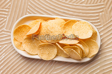 gluten free lightly salted chickpea chips