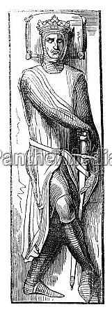 effigy of william earl of salisbury