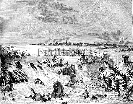 flood of coevorden in 1673 after
